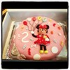 Tarta Minnie Mousse Valladolid